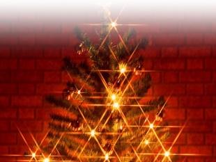 クリスマス飾り術のイメージ